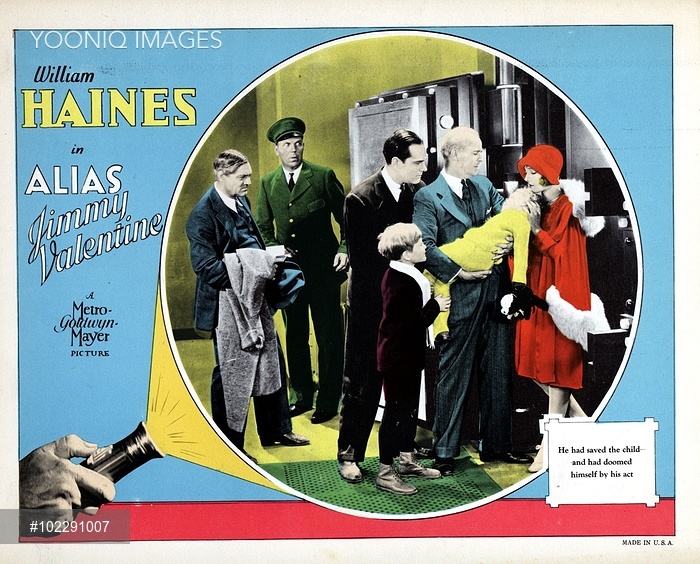 The Eveningu0027s First Screening Was Alias Jimmy Valentine (1928). The  Normally Very Authoritative Silentera.com Website Lists This As A Film  U0027presumed Lostu0027 ...