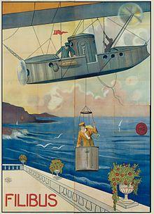 Filibus_1915 airship_poster